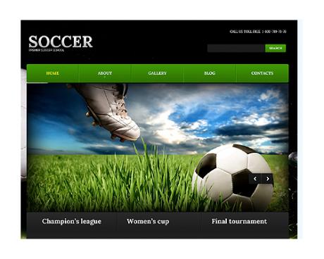 Soccer WordPress Premium Theme