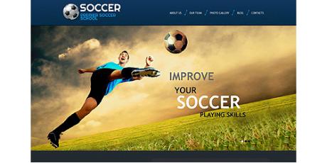 Premium WordPress Football Theme