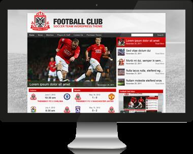 Premium Football WordPress Theme