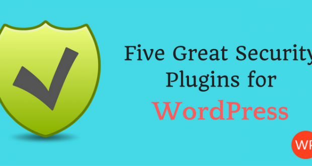 Five Great Security Plugins for WordPress