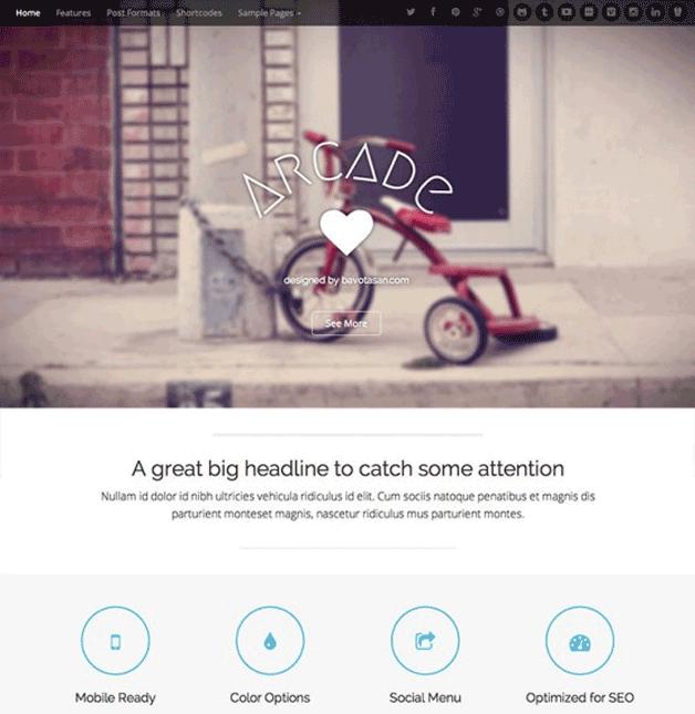 7 Fantastic Free WordPress Themes for 2014