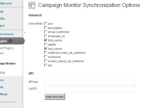 s2 Membership WordPress Plugin cm-synchronization-plugin