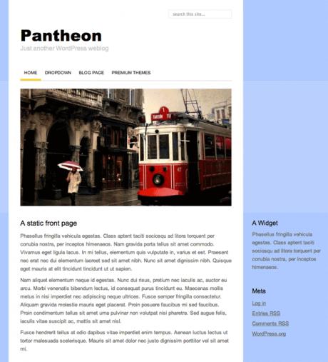 Pantheon WordPress Theme