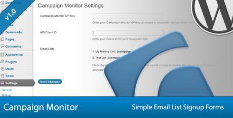 s2 Membership WordPress Plugin campaign monitor plugin for wordpress