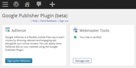 Google Publisher Plugin Screenshot 2