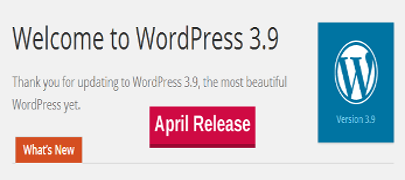 WordPress 3.9 release