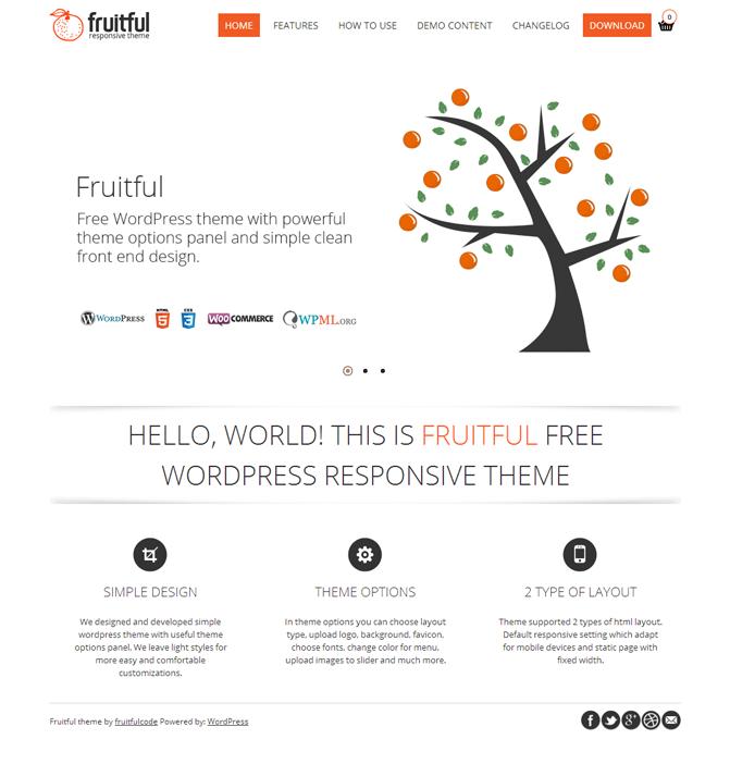 Fruitful WordPress Theme