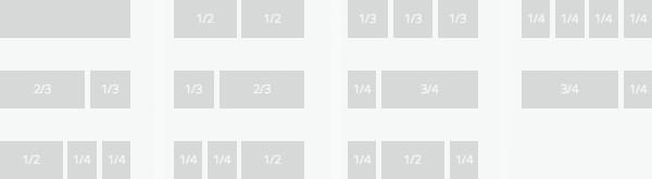 Elegant Themes Woocommerce Standard Row Types