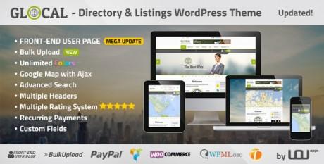Glocal - WordPress Directory Theme