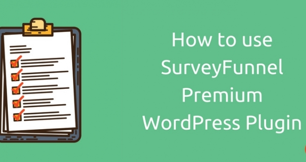 How to use SurveyFunnel Premium WordPress Plugin