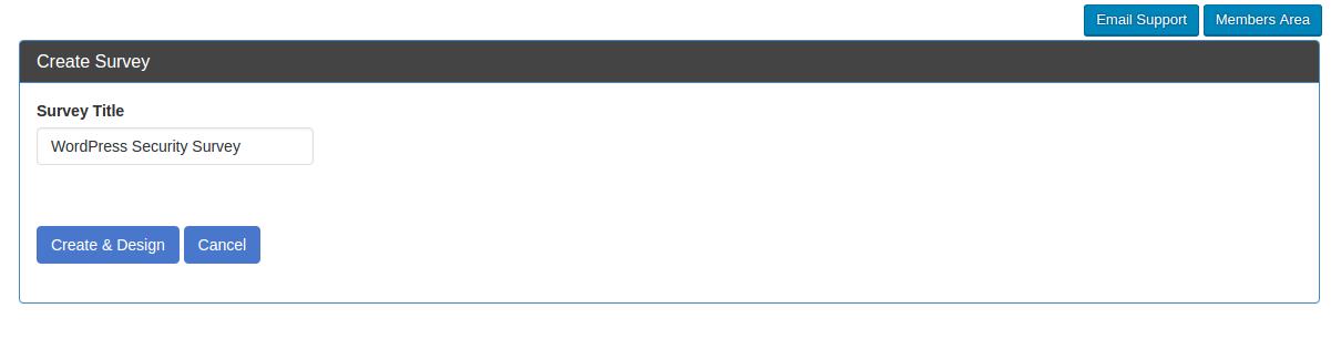SurveyFunnel Premium WordPress Plugin Title