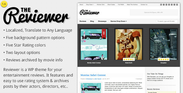 WordPress-Review-Theme-Reviewer