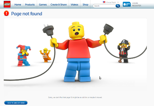 Is your 404 error page a little too interesting 1