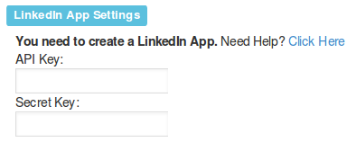 advanced settings linkedin
