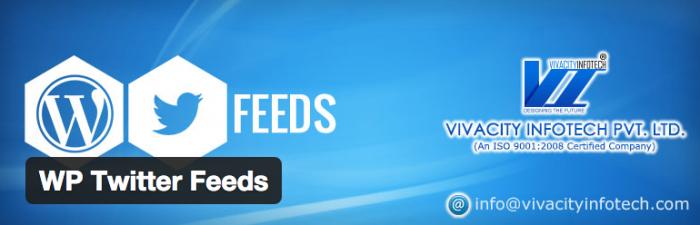 WP Twitter Feeds Plugin