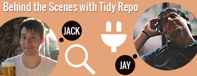 Interview with Jason and Jack Tidy Repo