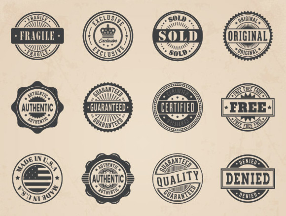 Vector Badges