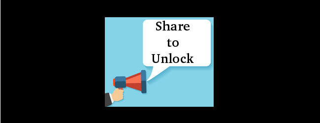 Share for unlocking
