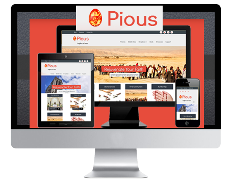 pious wordpress church theme