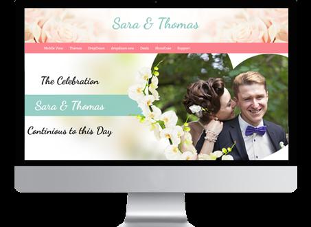 Happy wordpress wedding theme