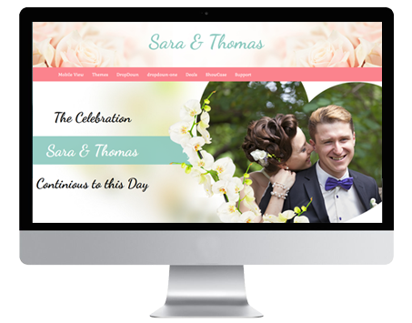 Happy wordpress wedding theme