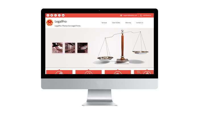 Legal Blog Themes