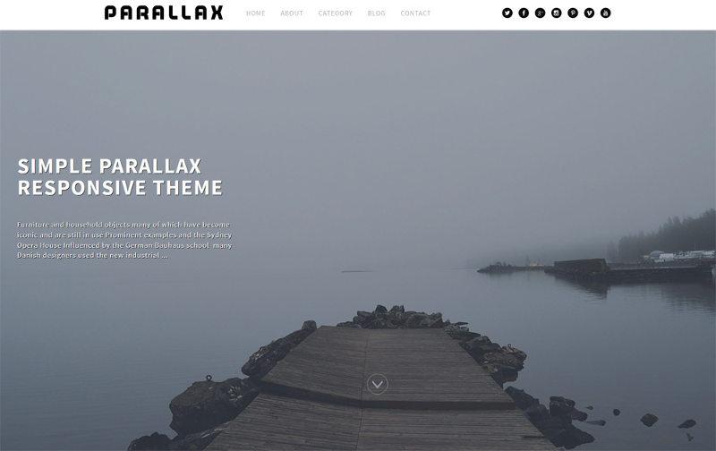 Simple-Parallax-Responsive-Theme1