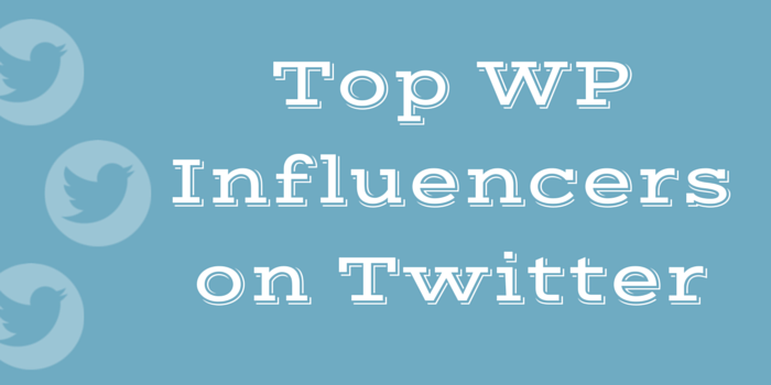 WordPress Influencers