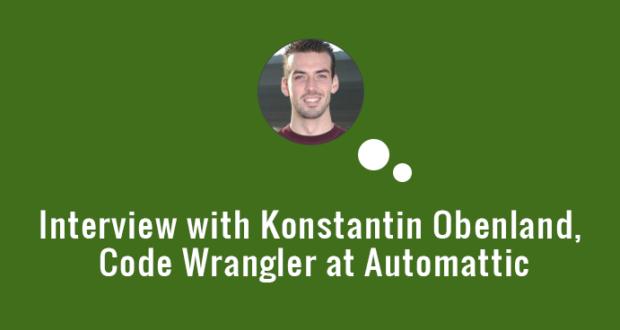 Interview with Code Wrangler - Konstantin Obenland