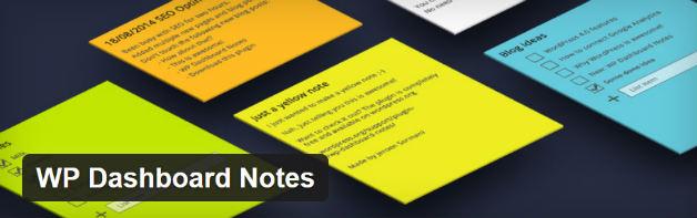 WP Dashboard Notes