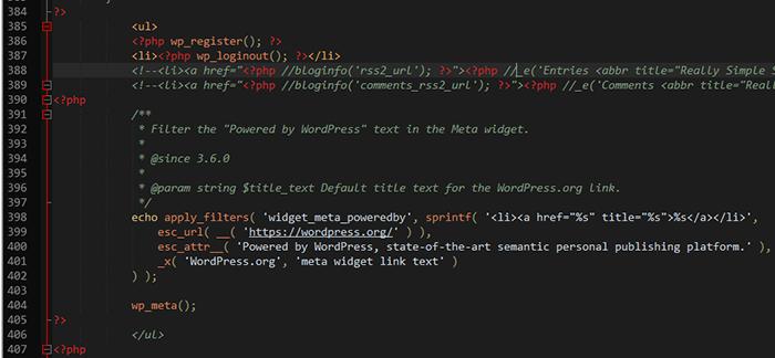 default-widgets