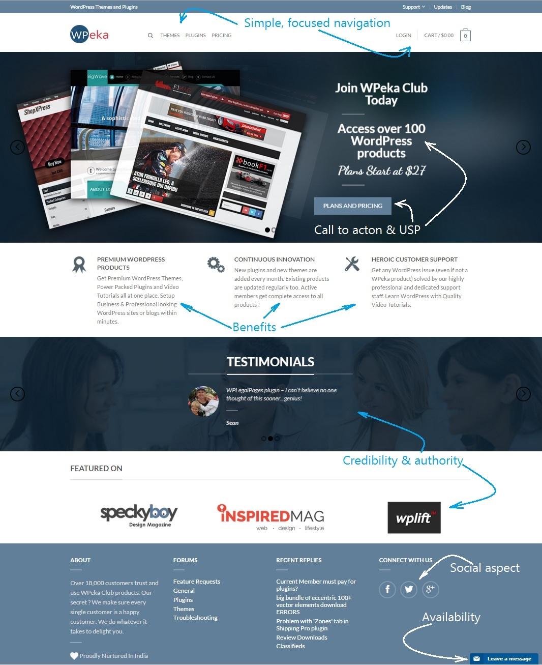 WPEka Club Home Page