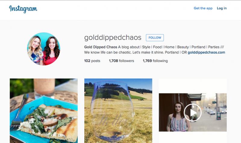 Instagram Marketing Screenshot