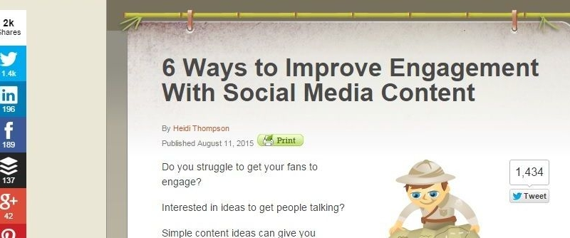 WordPress Best Free Social Sharing Plugins