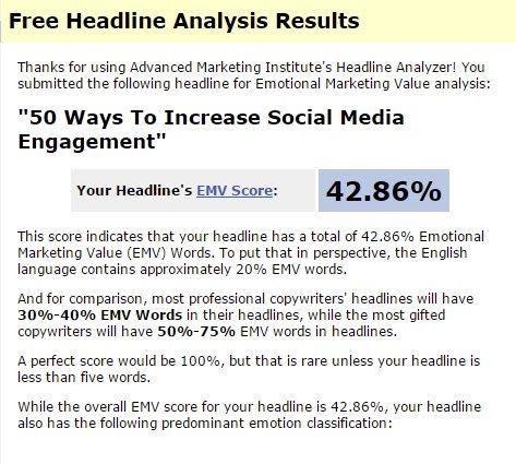 Emotional Headline Analyzer
