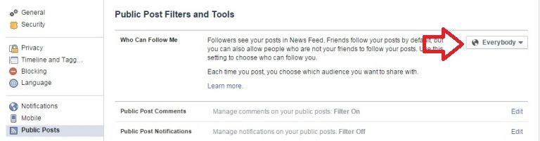 Facebook Follow Button