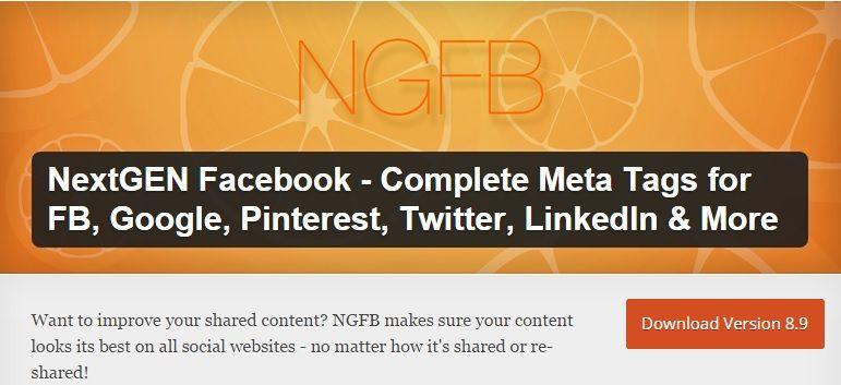 NexGEN Facebook author tag in wordpress