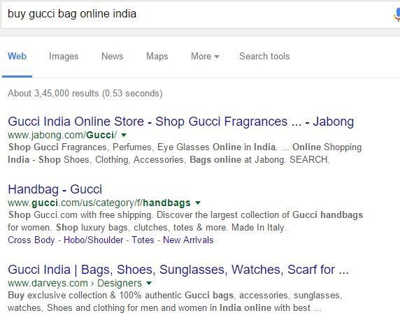 buy gucci bag online india