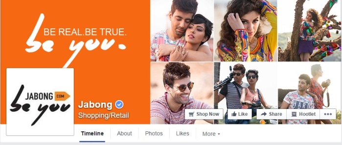 jabong facebook page