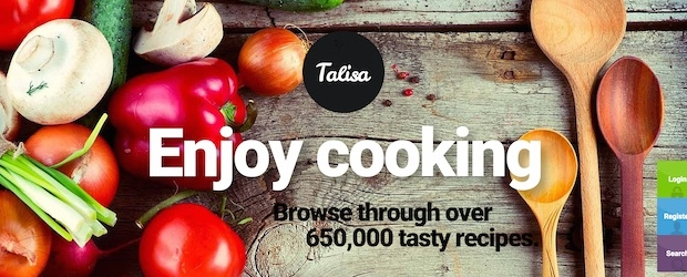 Talisa WordPress food blog theme