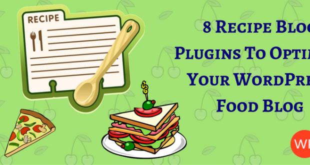 Recipe Blog Plugins