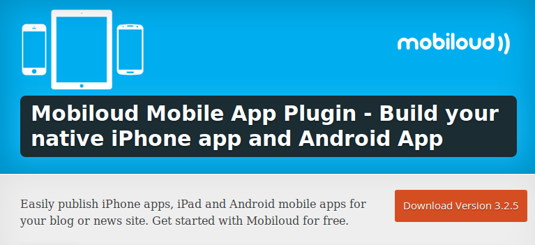 WordPress site into Android and iOS apps