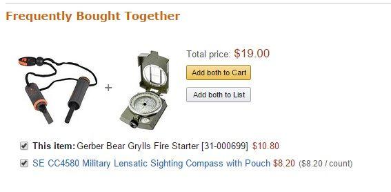 Amazon.com Upsell