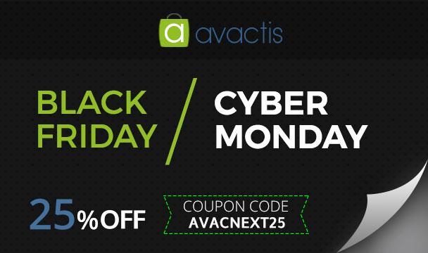 Avactis Black Friday