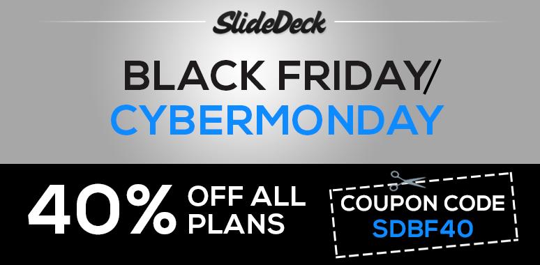 SlideDeck Black Friday