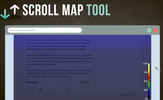 Scroll map Tool