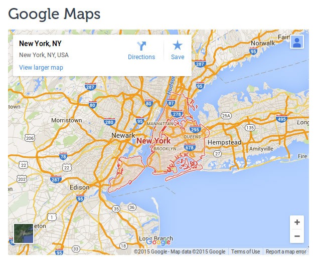 WooCommerce Theme Google maps