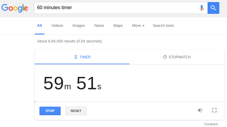 advanced google search tricks 2016 -Timer