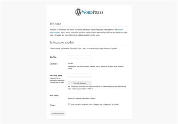 How to Install WordPress Login