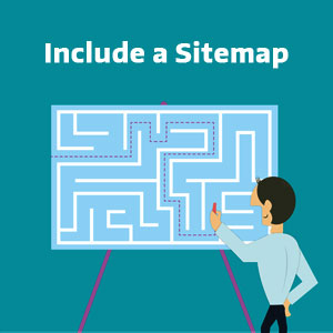 Include a Sitemap